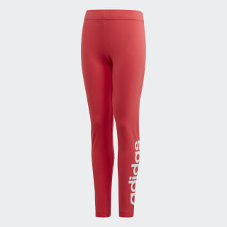 Essentials Linear Leggings Core Pink / White FM7024