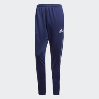 Kalhoty Core 18 Training Dark Blue / White CV3988