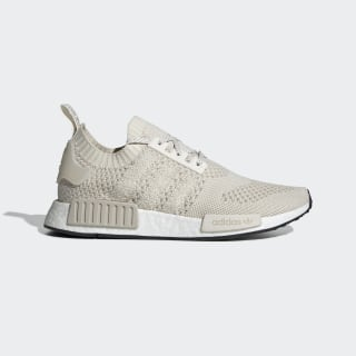 NMD_R1 Primeknit Shoes Beige / Chalk White / Raw White EE3651