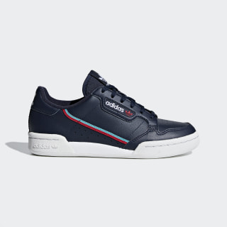 Continental 80 Shoes Collegiate Navy / Scarlet / Hi-Res Aqua F99785