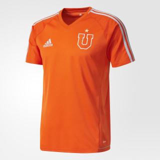 Camiseta UNIVERSIDAD DE CHILE TRG JSY COLLEGIATE ORANGE/LIGHT GREY BR2852