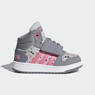 Hoops 2.0 Mid Shoes Grey / Chalk Pink / Grey DB1939