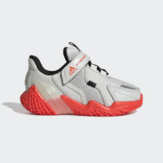 4UTURE Runner Shoes Orbit Grey / Solar Red / Core Black EG1772