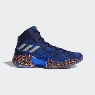 Pro Bounce 2018 Player Edition Shoes Dark Blue / Hi-Res Orange / Off White F36936