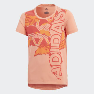 Camiseta Treino Branded CHALK CORAL S18/REAL CORAL S18/HI-RES ORANGE S18 CF7196