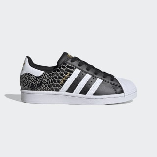 Chaussure Superstar Core Black / Cloud White / Gold Metallic FV3327