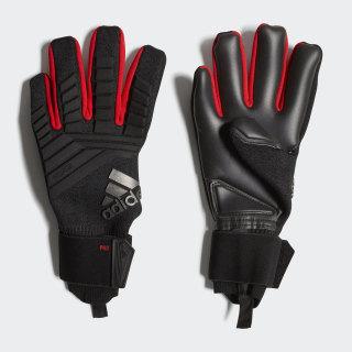 Guantes de portero Predator Pro Black / Active Red DN8578