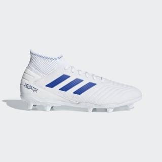Calzado de Fútbol Predator 19.3 Terreno Firme Ftwr White / Bold Blue / Bold Blue BB9333