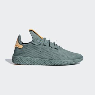 Pharrell Williams Tennis Hu Shoes Raw Green / Raw Green / Off White B41808