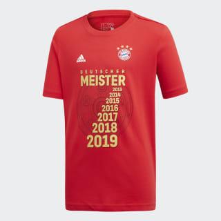 FCB Meister Tee Scarlet GC9994