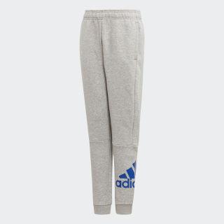 Calças em Fleece Must Haves Badge of Sport Medium Grey Heather / Collegiate Royal ED6490