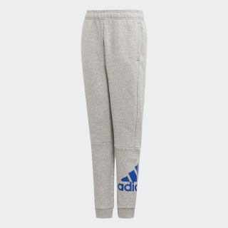 Must Haves Badge of Sport Fleece Broek Medium Grey Heather / Collegiate Royal ED6490