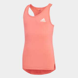 Summer Training Tank Top Flash Red / White DV2789