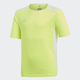 Футболка Entrada solar yellow / white CE9756