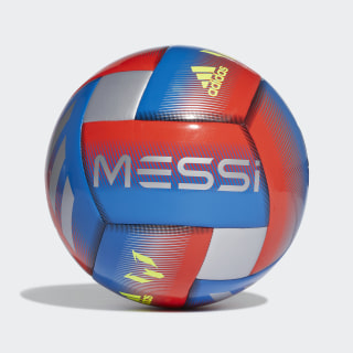 Messi Capitano Ball Football Blue / Active Red / Silver Metallic DN8737