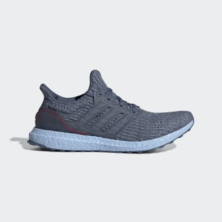 Ultraboost Shoes Tech Ink / Glow Blue / Scarlet G54002