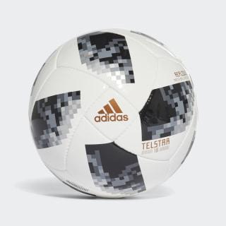 Bola FIFA World Cup Replique 2018 WHITE/BLACK/SILVER MET. CE8089
