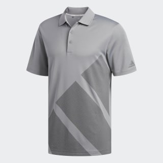 Bold 3-Stripes Polo Shirt Grey Three / Grey Four DN3395
