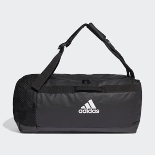 4ATHLTS ID Duffel Bag Medium Black / Black / White FJ3922