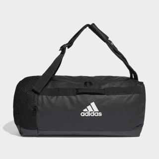 4ATHLTS ID Duffel Bag Medium Black / Black / White FJ3922