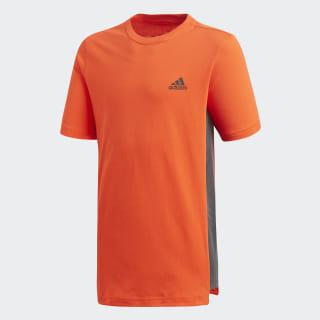 Camiseta YB ID TEE 2 Active Orange / Black DV1679
