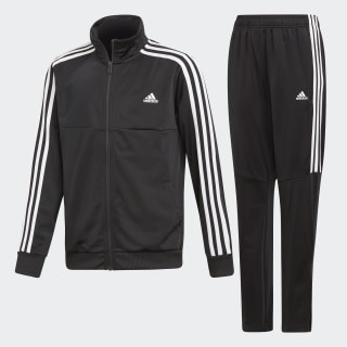 Tiro Track Suit Black / White DV1738