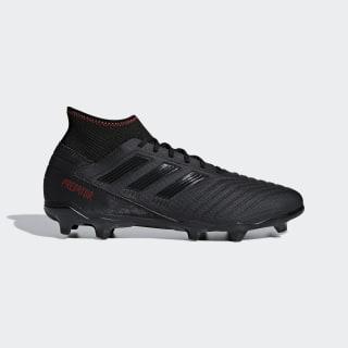 Bota de fútbol Predator 19.3 césped natural seco Core Black / Core Black / Active Red D97942