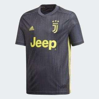 Juventus Third Jersey Youth Carbon / Shock Yellow DP0453