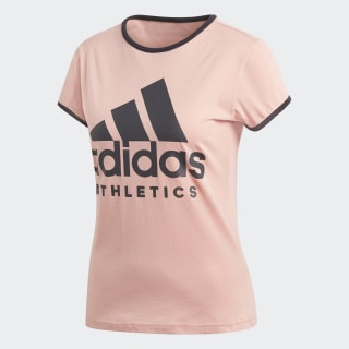 Sport ID Tee Trace Pink CF1440