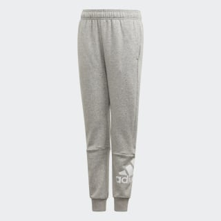 Must Haves Pants Medium Grey Heather / White ED6473