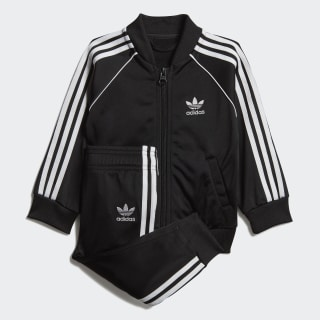 SST Track Suit Set Black / White DV2816