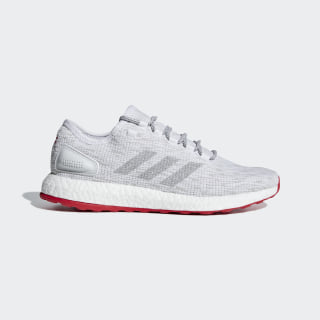 PureBOOST LTD Shoes Ftwr White / Grey Two / Scarlet CM8333