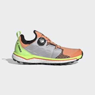 Sapatos de Trail Running Boa TERREX Agravic Amber Tint / Grey Two / Signal Green EH0198