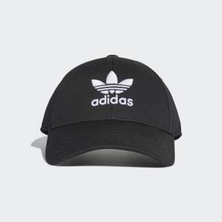 หมวกเบสบอล Trefoil Black / White EC3603