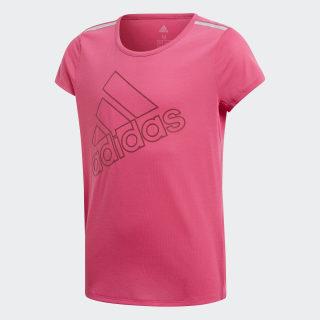 Camiseta Training Brand REAL MAGENTA/NOBLE MAROON DJ1094