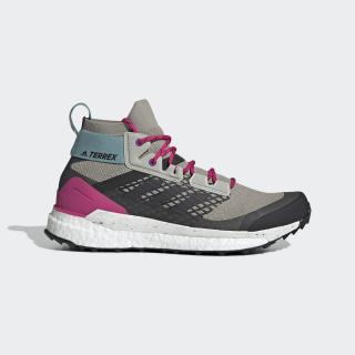 Terrex Free Hiker Shoes Sesame / Carbon / Real Magenta D97835