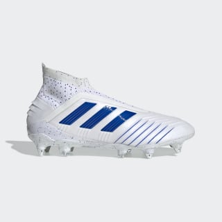 Predator 19+ Soft Ground Boots Cloud White / Bold Blue / Bold Blue F35850