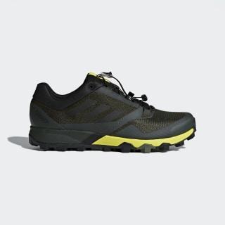 Обувь для трейлраннинга TERREX Trail Maker night cargo / core black / shock yellow AC7915