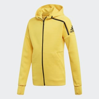 Chaqueta Heartracer adidas Z.N.E. Chaqueta Fast Release active gold/bold gold/black ED4629