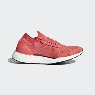 Кроссовки для бега Ultraboost X trace scarlet s18 / crystal white / trace orange s18 BB6160
