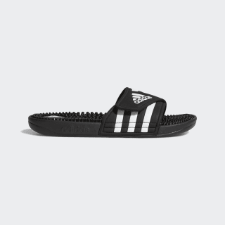 Adissage Slides Black / Black / Cloud White 087609