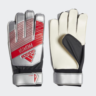 Predator Training Goalkeeper Gloves Silver Met. / Black DY2614