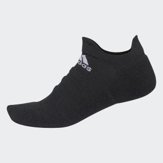 Alphaskin Lightweight Cushioning No-Show sokker Black / White CV7692