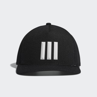 H90 3-Stripes Cap Black / Black / White DW9052