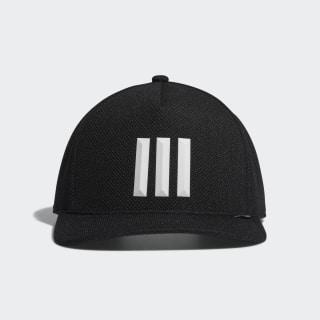 H90 3-Stripes Cap Black / Black / White DW9052