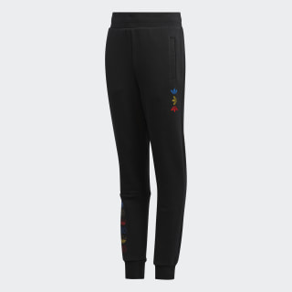 Linear Logo Pants Black / Platinum Metallic FU0782