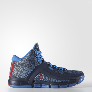J Wall 2.0 Shoes Collegiate Navy / Vivid Red / Shock Blue F37132