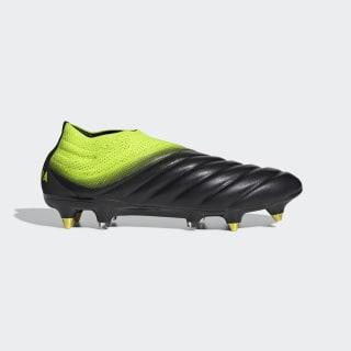 Bota de fútbol Copa 19+ césped natural húmedo Core Black / Solar Yellow / Core Black D98146
