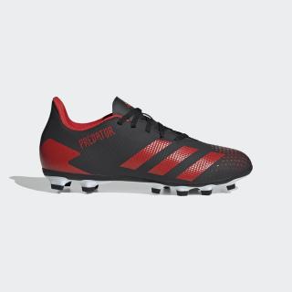 Botas de Futebol Predator 20.4 – Vários Pisos Core Black / Active Red / Cloud White EE9566