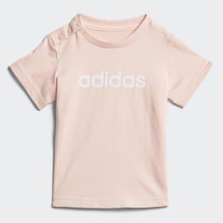 Camiseta Fav HAZE CORAL/WHITE DJ1552